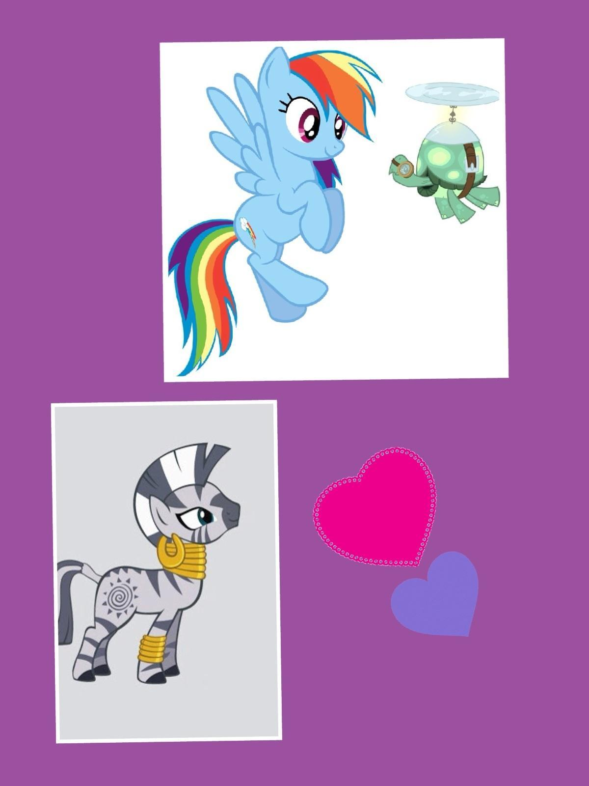 Are you more like Zecoera or rainbow dash from my little pony?
