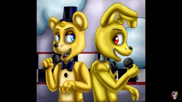 Who are you in Fredbear and SpringBonnie?