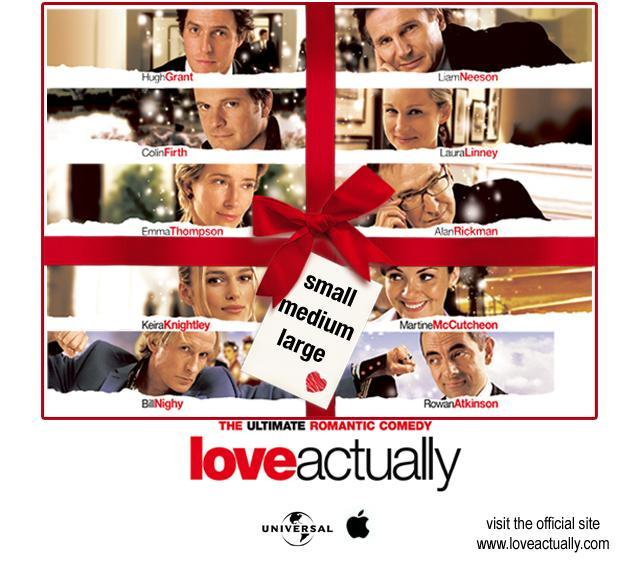 Which couple from the film Love Actually are you?