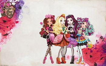 which ever after high character!