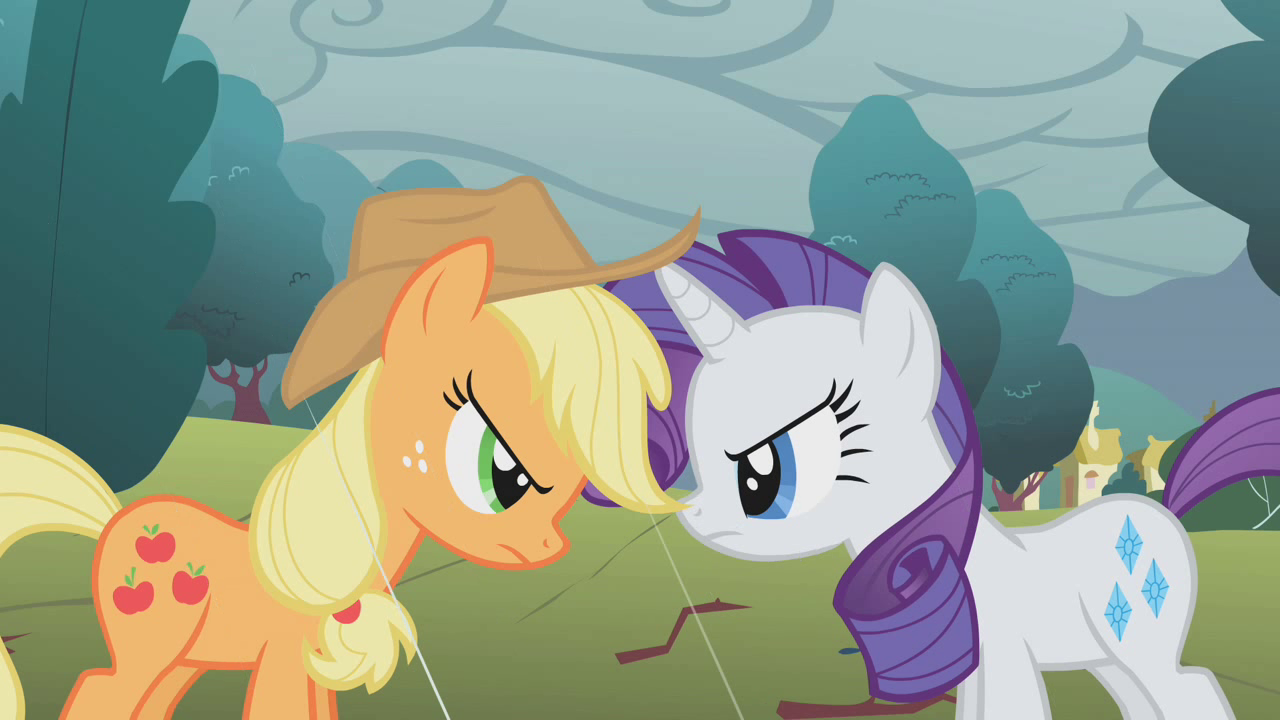 Would You Rather? (Rarity Vs. Applejack)