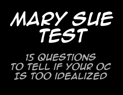 Mary Sue Test
