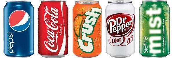 Which Of The Five Sodas Describe You?