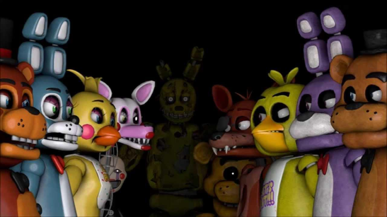 Do you know the sfm fnaf?