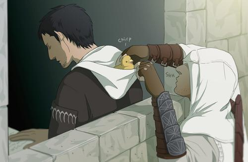 Are you Malik or Altair