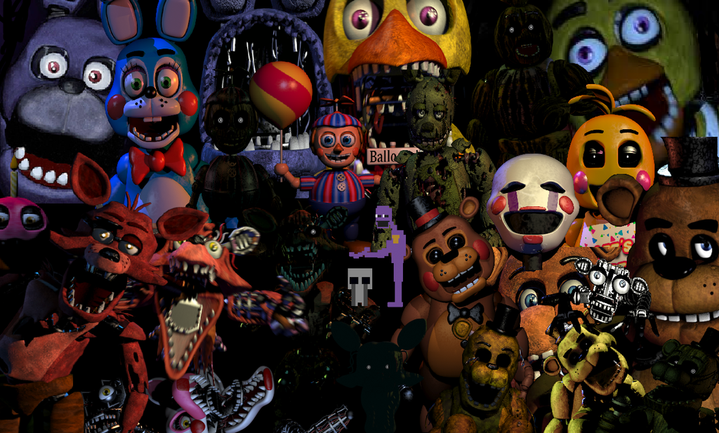 what fnaf character are you (1)