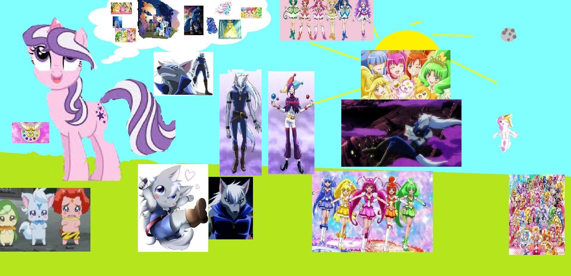 what glitter force character are you including the villians?