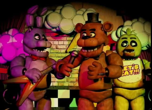 Which Five Nights at Freddy's Animatronic are You? (1)