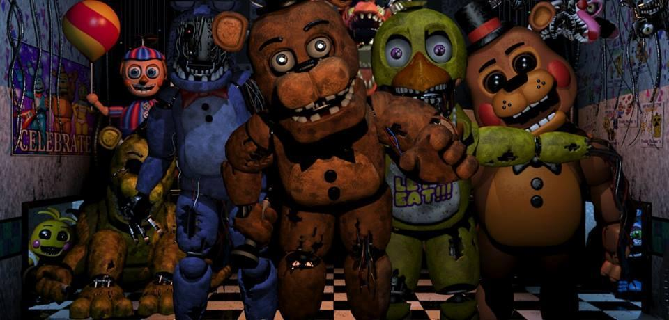 Which FNAF Character Are You? (1)