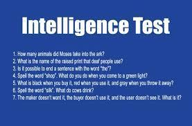 are you intelligent? (1)