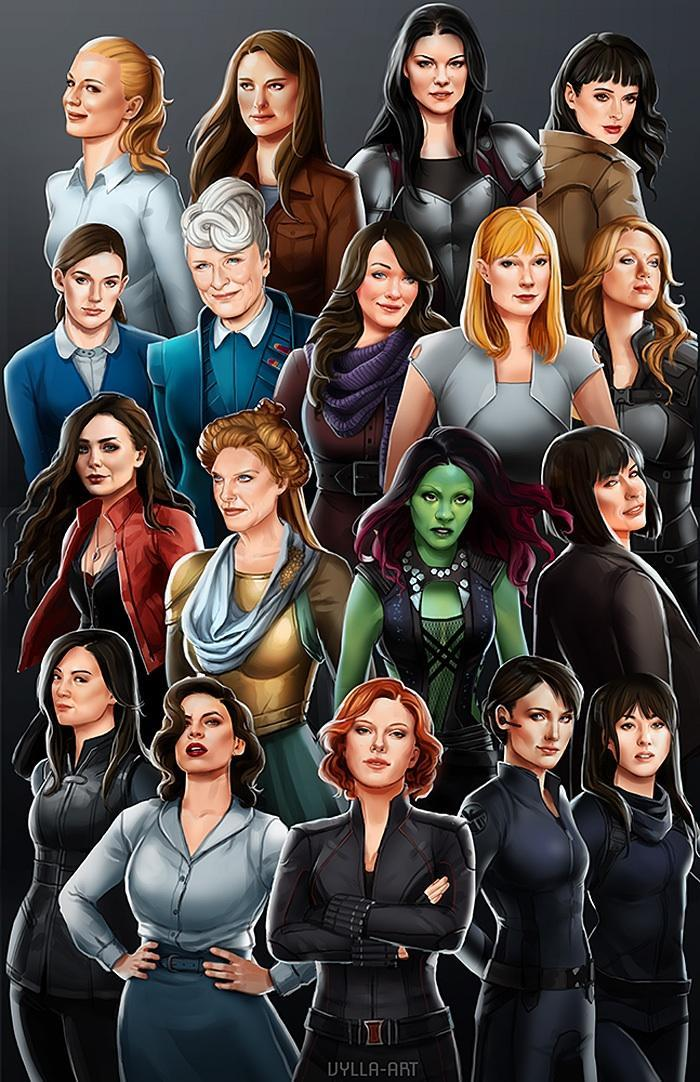 Which female Marvel character are you?