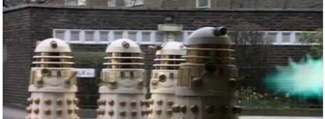 Do the Daleks spare you?