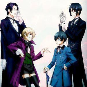 Which Black Butler character likes you?