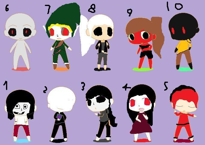 Who Is your Creepypasta BF?