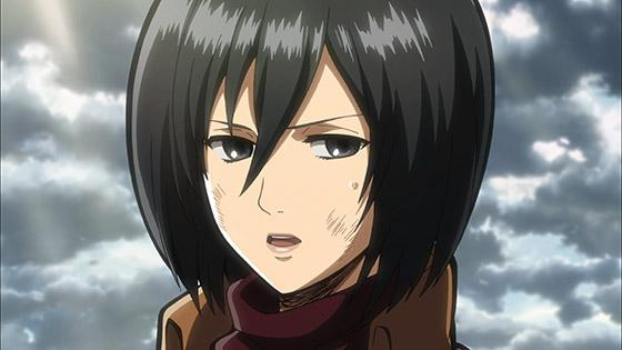 Do you know Mikasa Ackerman very well?