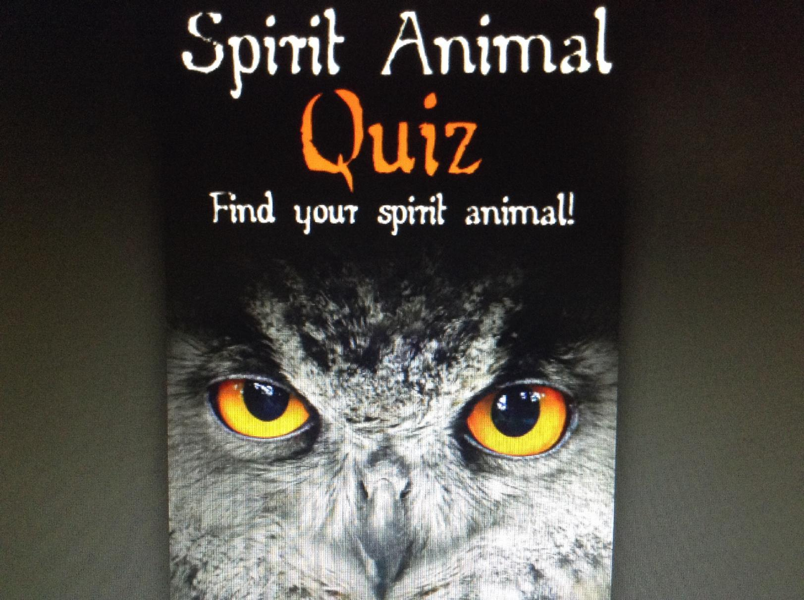 Spirit Animal Quiz (1)