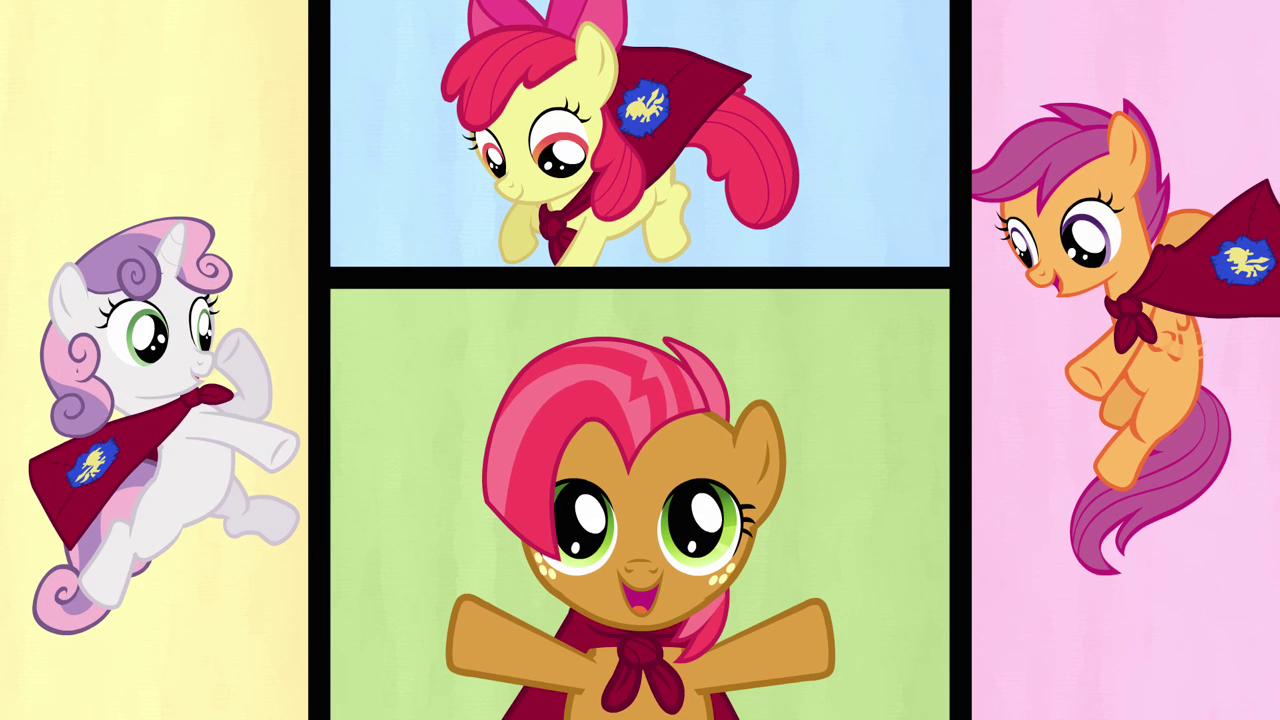 Which Cutie Mark Crusader Is Your Personality?