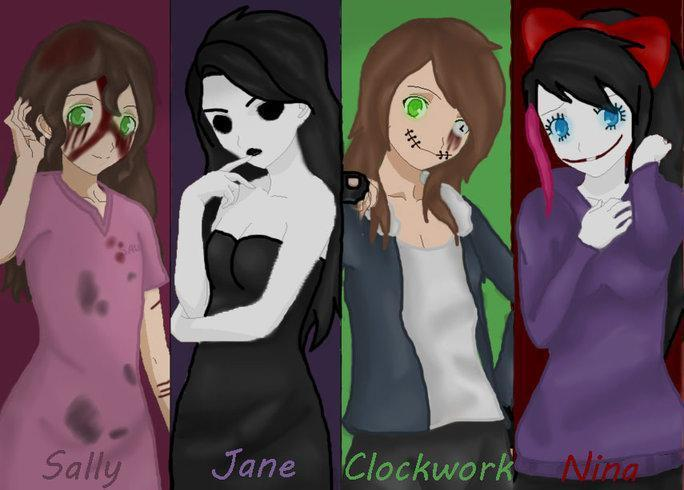 Which Creepypasta girl likes you?