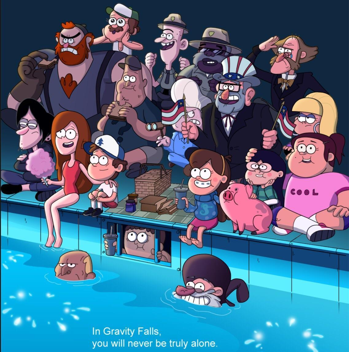Do You know Gravity Falls?