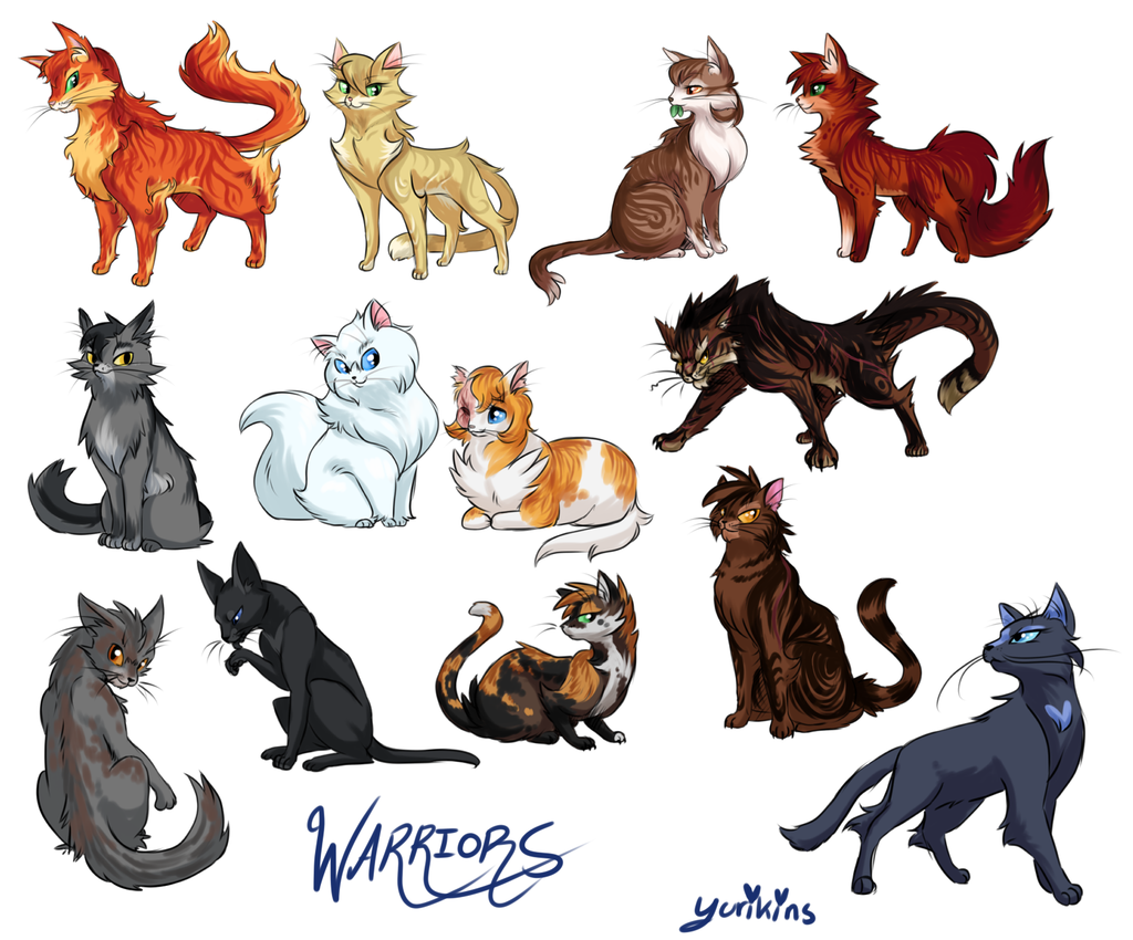What warrior cat are you? (11)