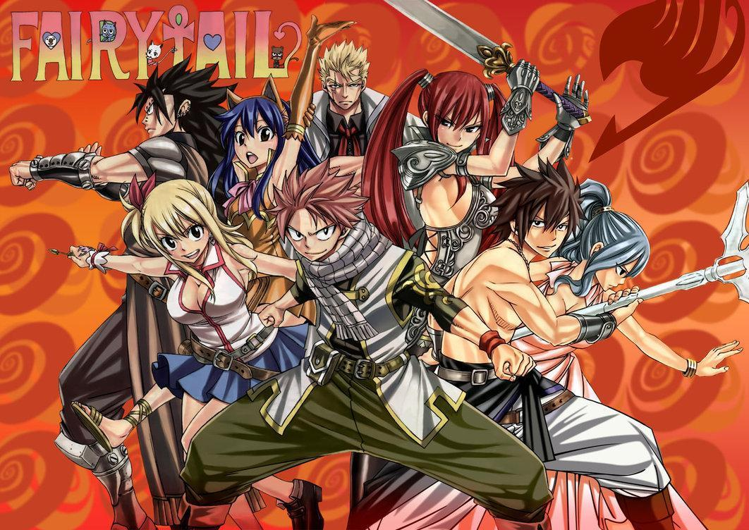 Fairy Tail scored quiz!