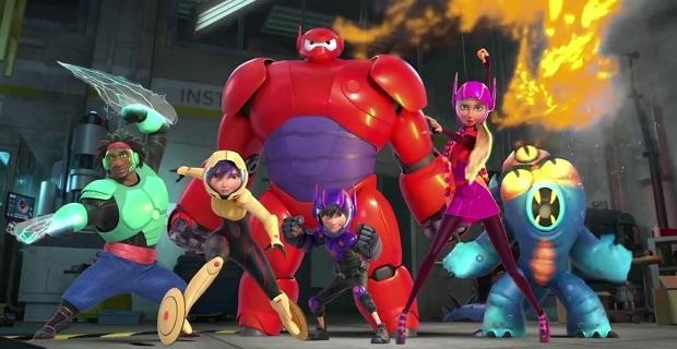 Which member from Big Hero 6 are you?