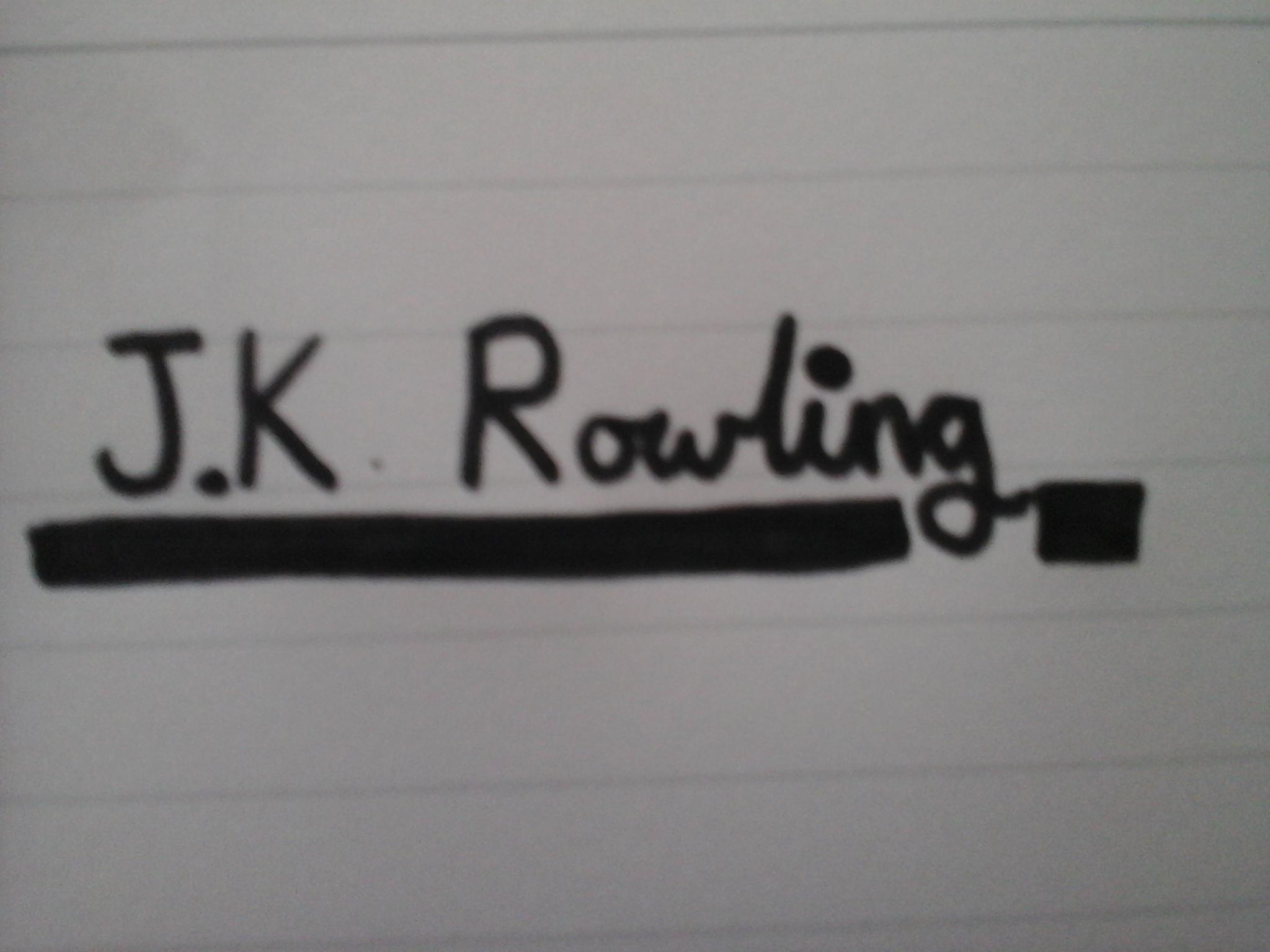 Do you know aboubt J.K Rowling?