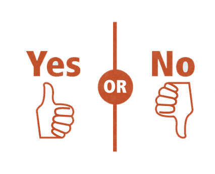 Yes or No questions (no.2 edition)