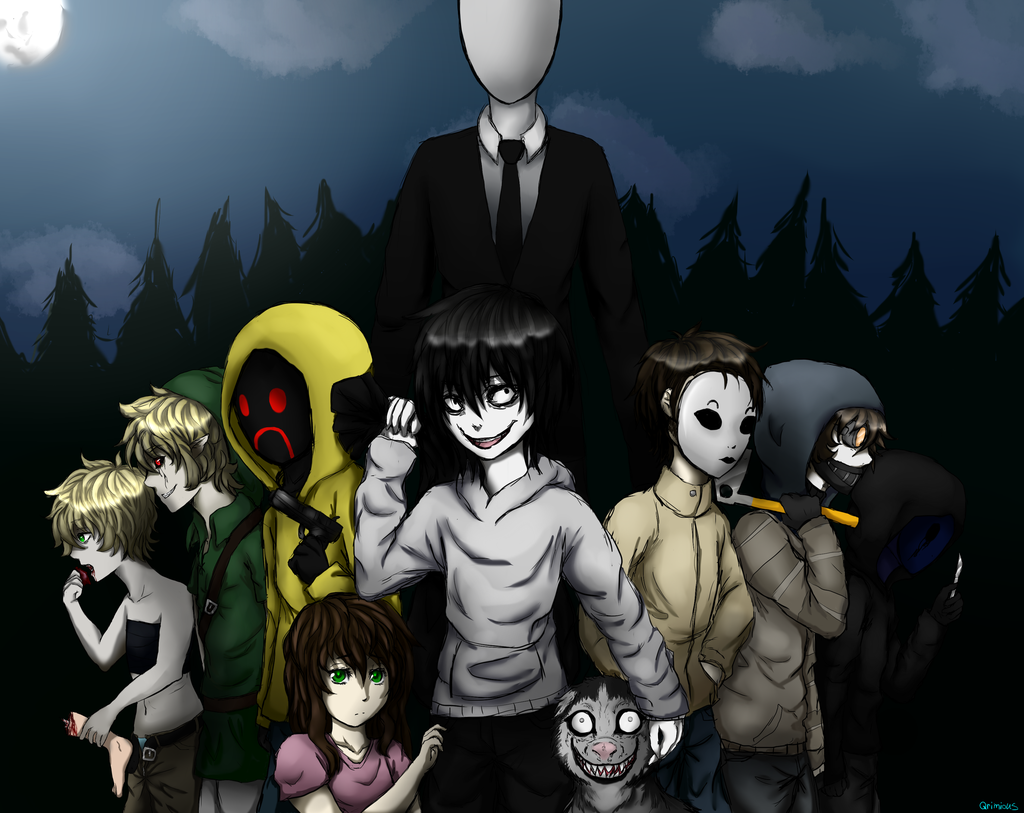 Which CreepyPasta Will Be Your Boyfriend? ;b