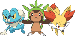 What starter Pokemon from X and Y are you?
