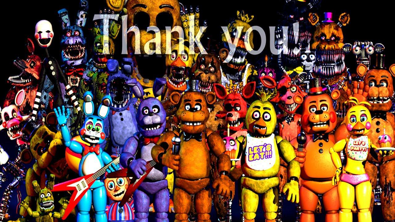 Which fnaf character would you be?
