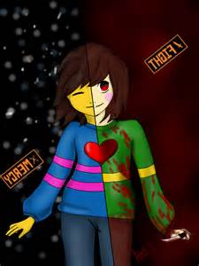 are you chara or frisk? (1)