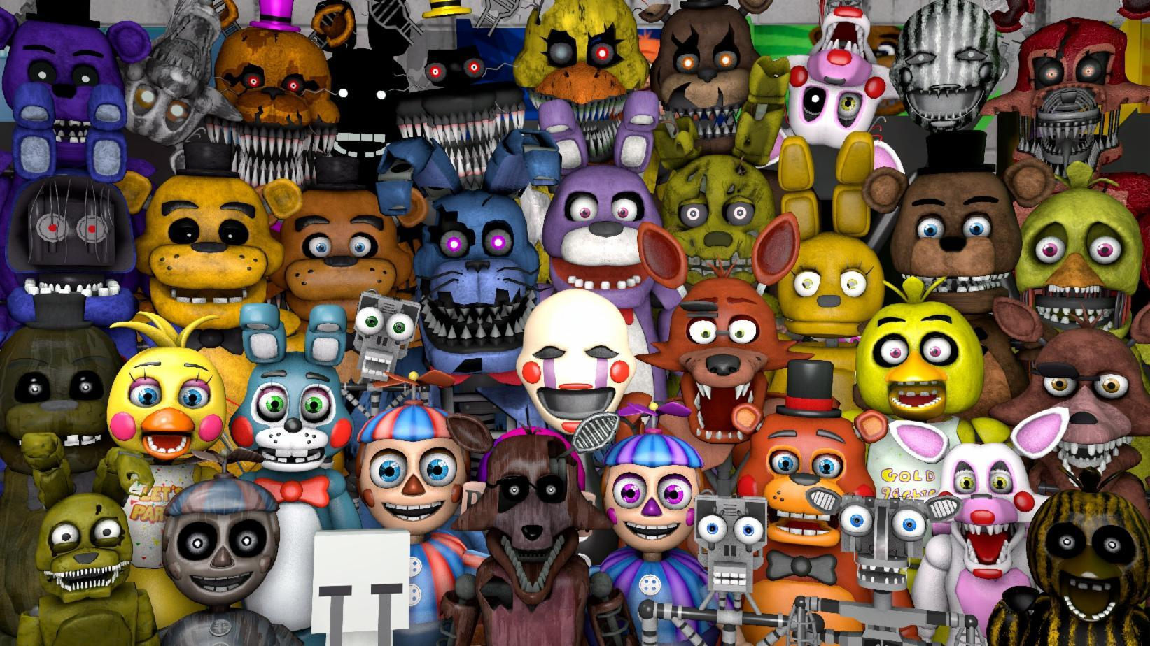 what fnaf character are you?
