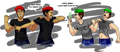 Who Likes You More Antisepticeye or Darkiplier?