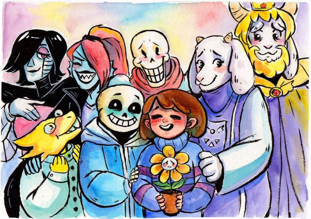 Which Undertale Character are you? Find out!