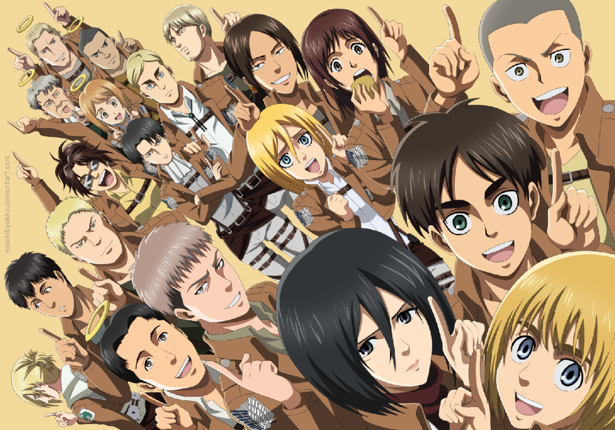 What Attack on titan character are you?