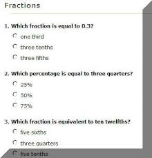 Are you good at fractions? for ages 9+