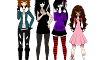 Which Creepypasta girl would befriend you?