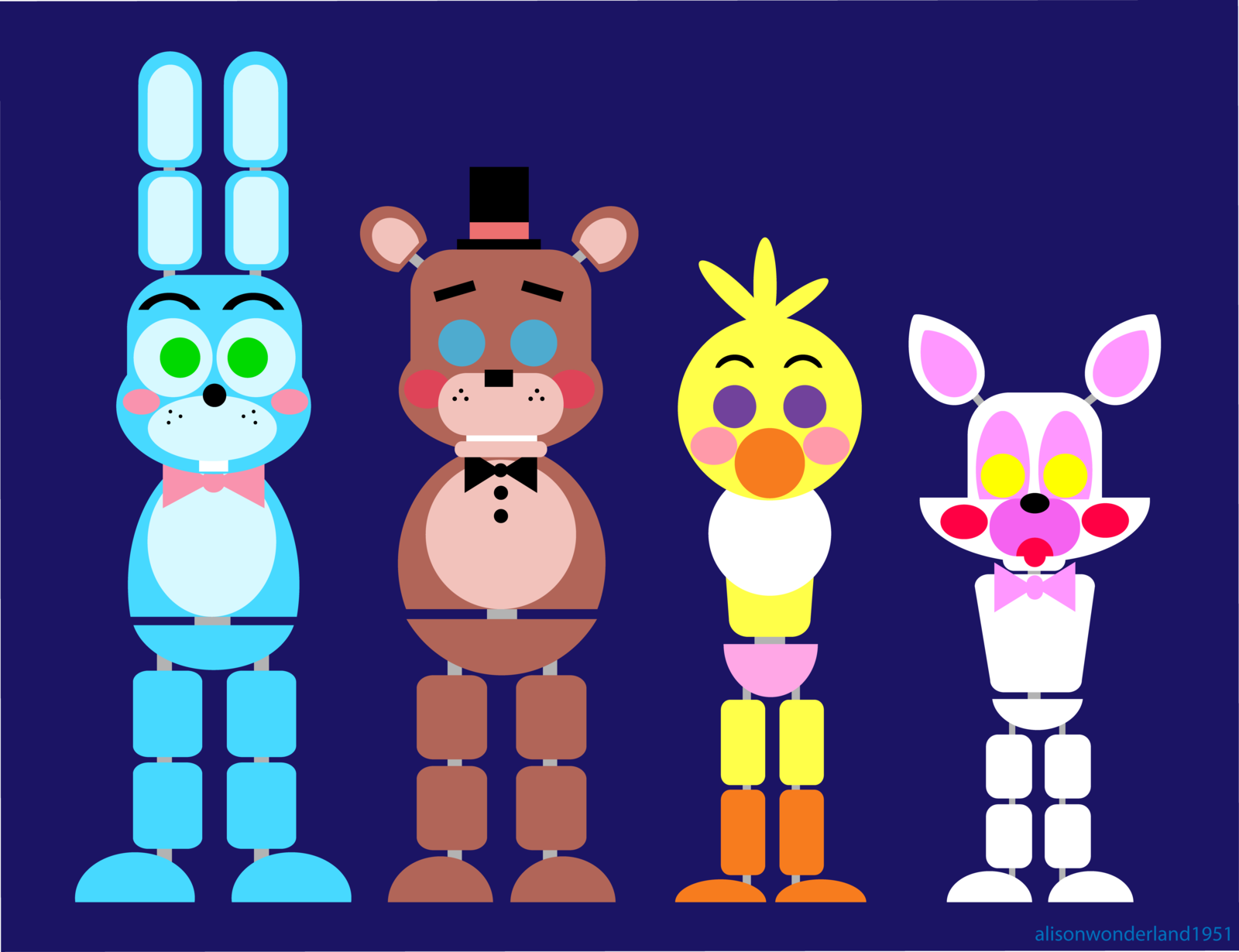 which toy animatronic are you?