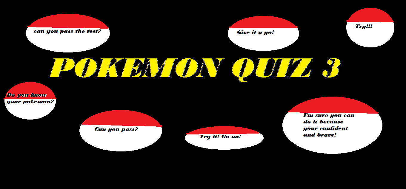 what pokemon are you? 3