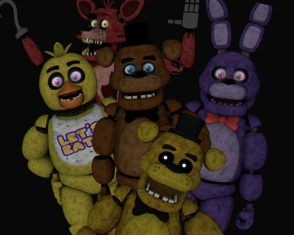 Who are you in FnaF 1?