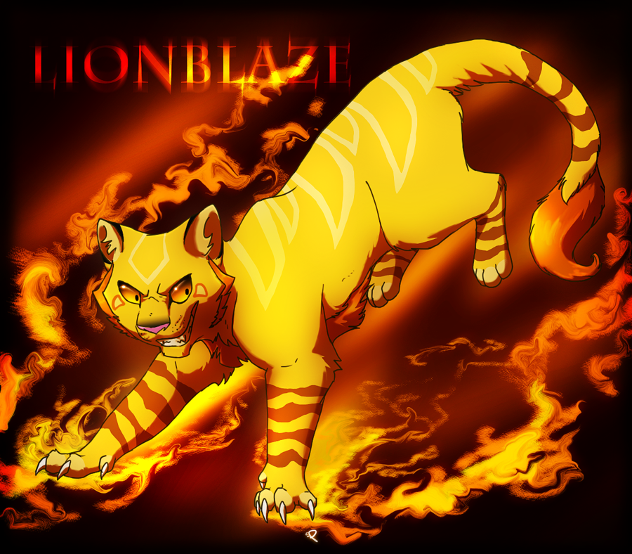 How much do you know about Lionblaze from warrior cats?