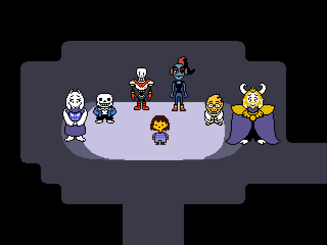 What Undertale character are you? (7)