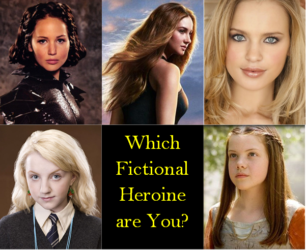 Which Fictional Heroine are You?