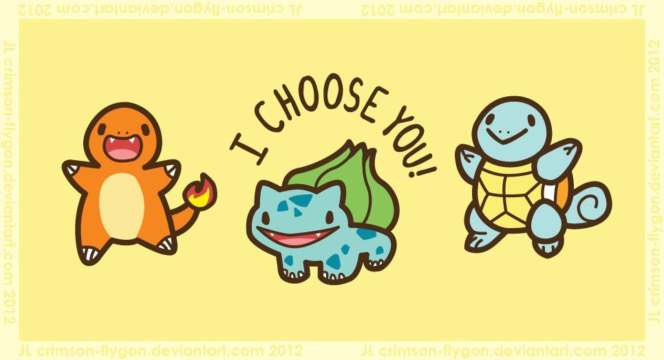 What Kanto Starter Pokemon are you? (1)