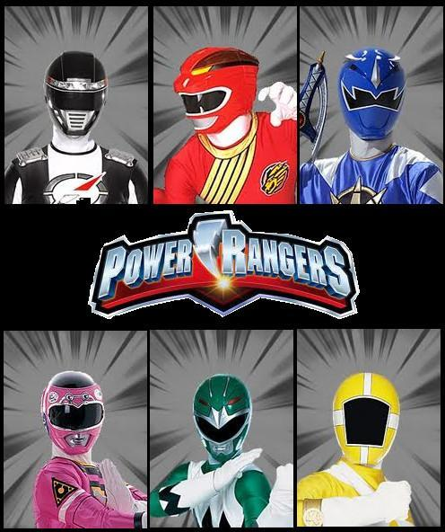 What power ranger color are you!