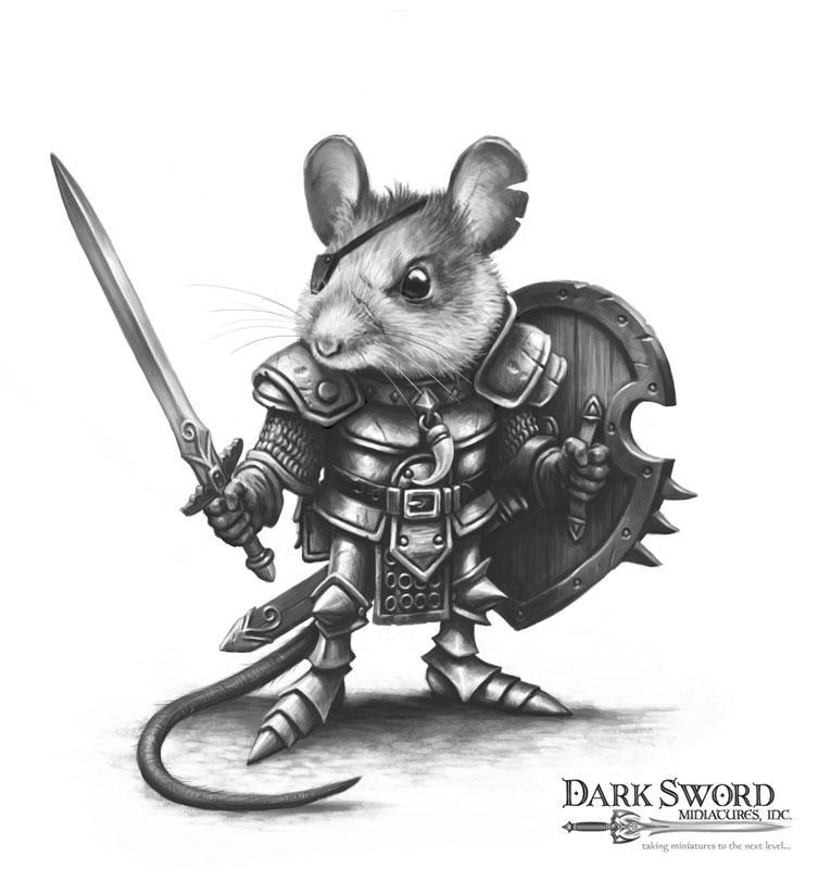 Which one of my mouse warriors are you?