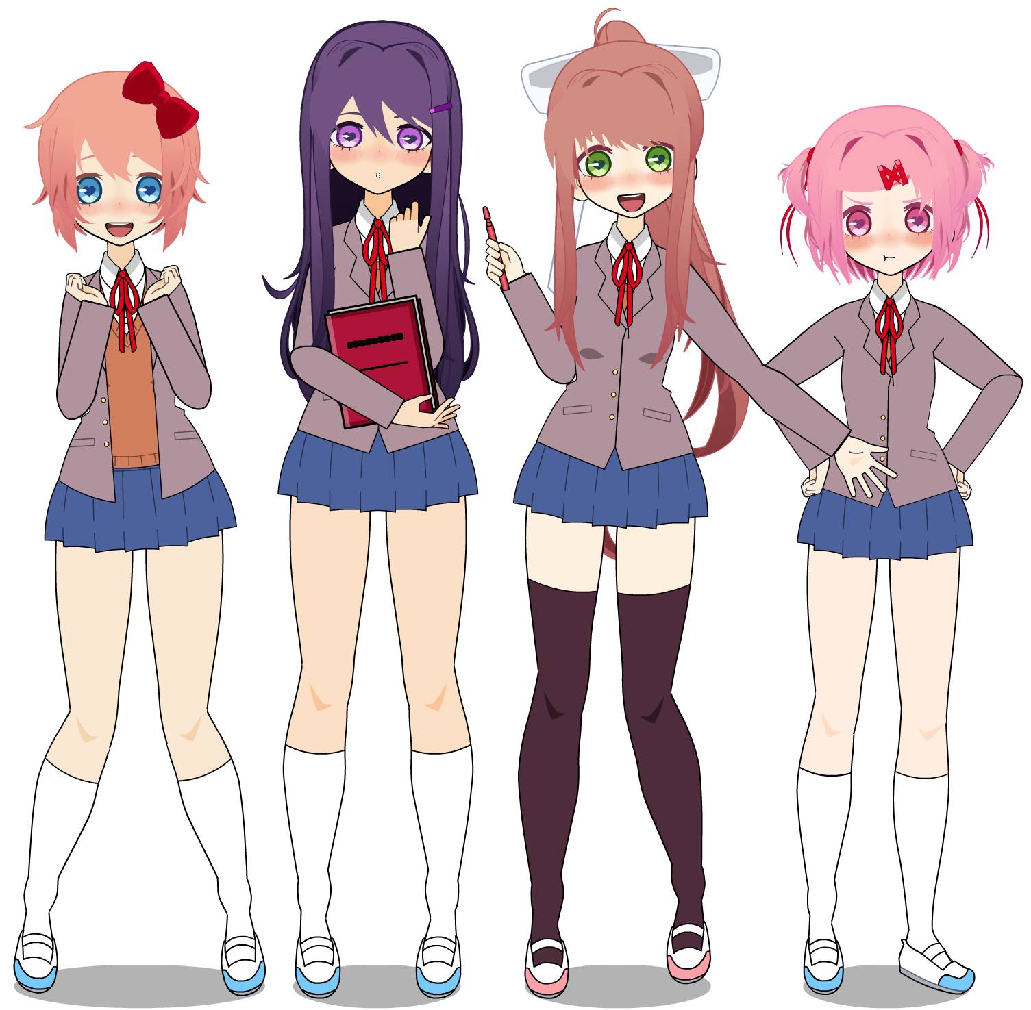 Which Doki Doki Literature Club Character Are You?