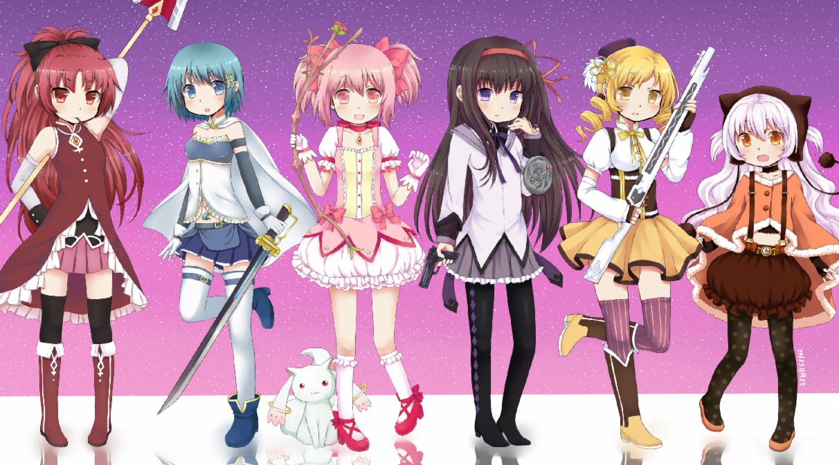 What Madoka Magica Character are you? (1)