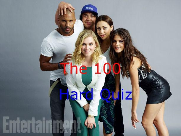 The 100 Quiz Super Hard! ! ! !
